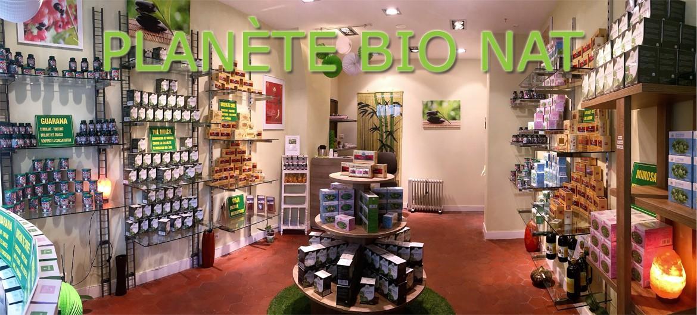 La boutique Planète Bio Nat